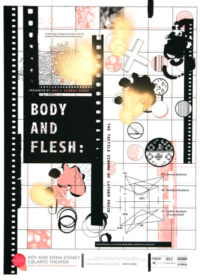 CalArts poster: REDCAT: Body and Flesh by Herim Shin