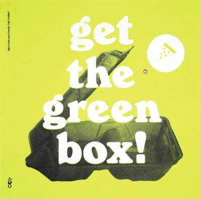 CalArts poster: Get the Green Box! by Jenny Song