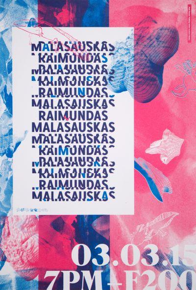CalArts poster: Malasaukas Raimundas by Henrique Eira Jacob Halpern