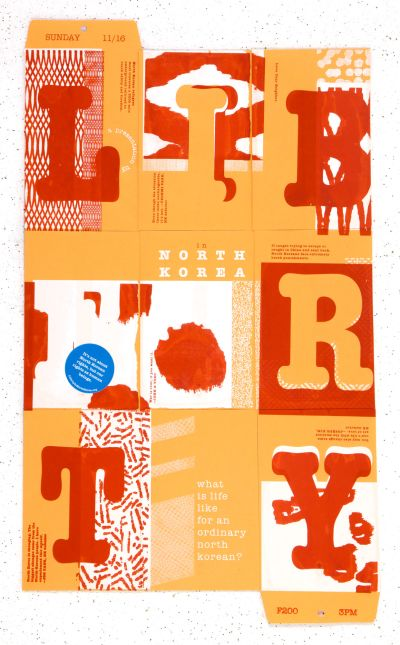 CalArts poster: Liberty by Jenny Song