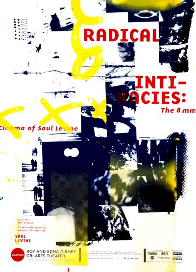 CalArts poster: REDCAT: Radical Intimacies by Ran Park Tiffany Lee Tina Hung