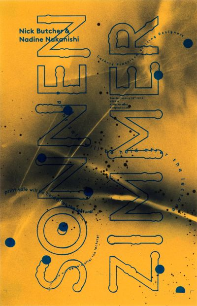 CalArts poster: Sonnen Zimmer by Ran Park Sohee Kim [II] Yunji Jun