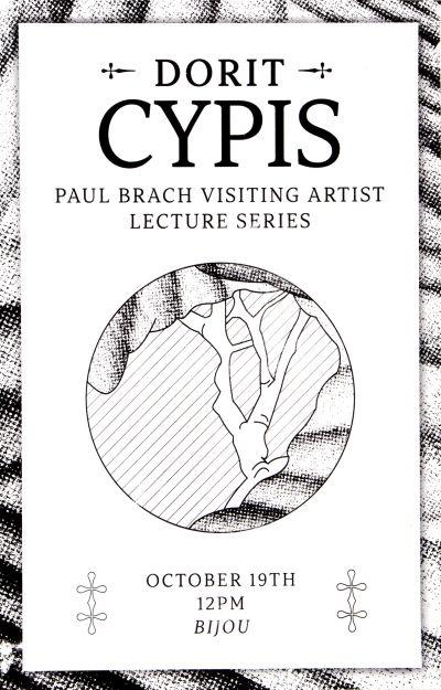 CalArts poster: Dorit Cypis by Guanyan Wu Yinchen Niu