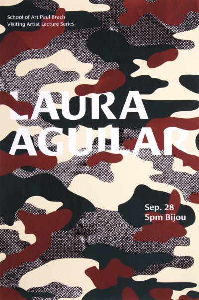 CalArts poster: Laura Aguilar by Guanyan Wu