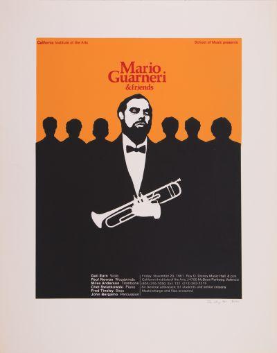 CalArts poster: Mario Guarneri & Friends by Don Chang