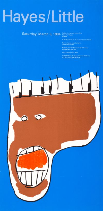 CalArts poster: Hayes/Little by F Ron Miller