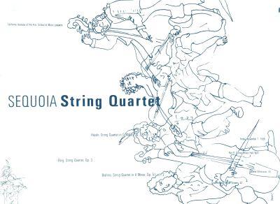 CalArts poster: Sequoia String Quartet by