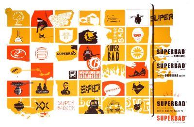 CalArts poster: Superbad by Jon Sueda Peter Kaplan