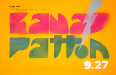 CalArts poster: Kana Patton by Caroline Oh Joseph Prichard
