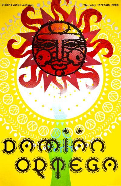 CalArts poster: Damian Ortega by