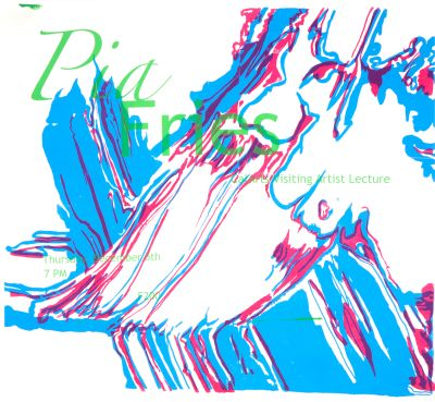 CalArts poster: Pia Fries by
