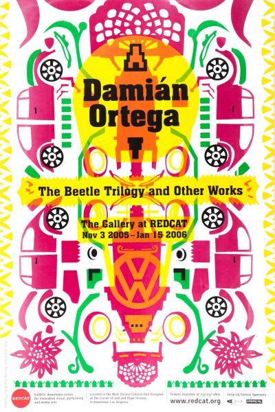 CalArts poster: REDCAT: Damián Ortega by Jerry De La Rosa