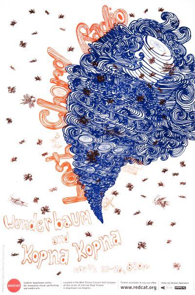 CalArts poster: REDCAT: Lost Chord Radio by Agung Wimboprasetyo
