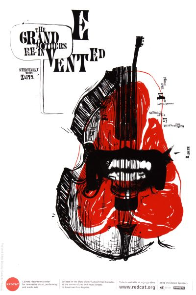 CalArts poster: REDCAT: The Grandmothers Re-Invented by Matthew Resnik