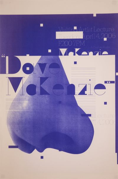 CalArts poster: Dave Makenzie by
