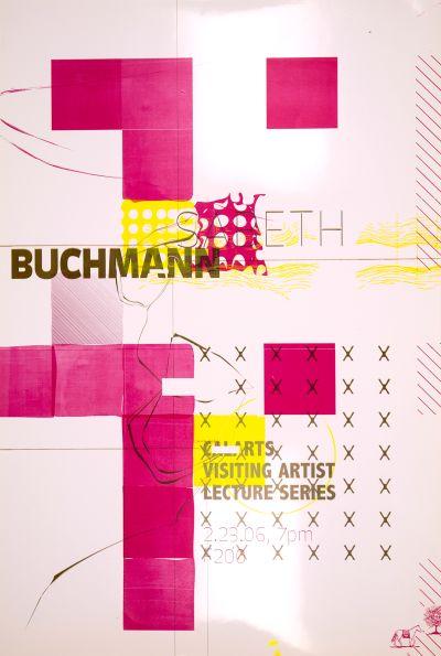 CalArts poster: Sabeth Buchmann by