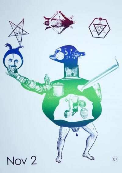 CalArts poster: Untitled by Gali Erez Rachel Austin-Martin