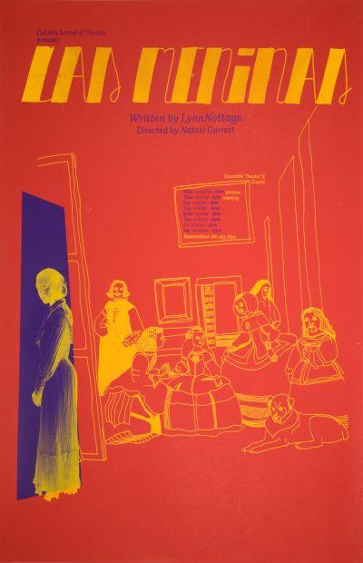 CalArts poster: Las Meninas by Julie Mattei
