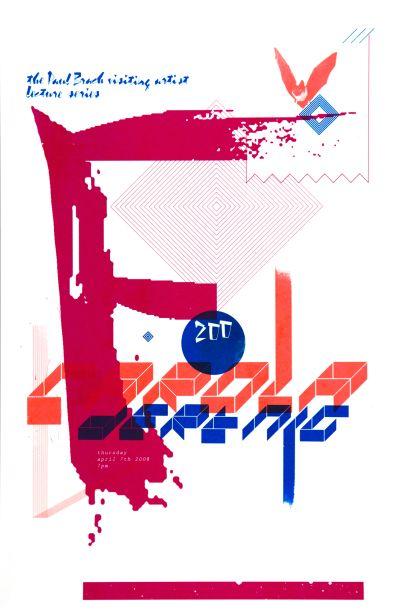 CalArts poster: Carola Dertnig by Joel Evey Julie Mattei