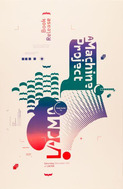 CalArts poster: Field Guide to LACMA by Masato Nakada Aastha Gaur