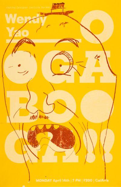 CalArts poster: Wendy Yao by Joseph Prichard