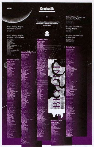 CalArts poster: 2008 CalArts Graduation Ceremony (2/2) by