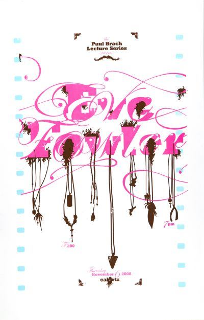CalArts poster: Eve Fowler by Ania Diakoff Jesse Lee Stout