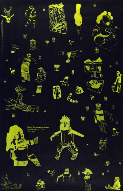 CalArts poster: Hirsch Perlman by Caroline Oh Teira Johnson