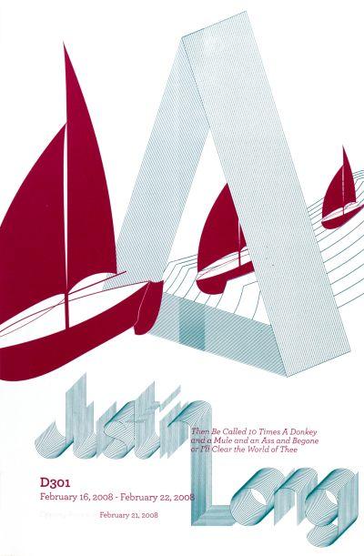CalArts poster: Justin Long by