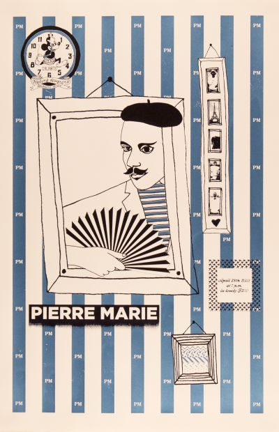 CalArts poster: Pierre Marie by Julie Mattei
