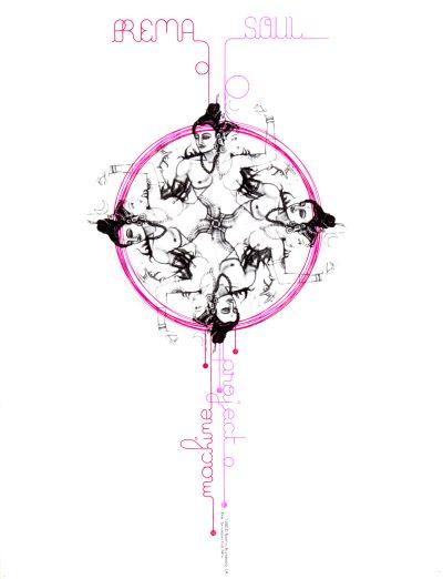 "CalArts poster: ""Prema Soul"" by Aastha Gaur"