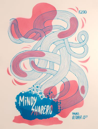 CalArts poster: Mindy Shapero (2/2) by Edwin Alvarenga Lila Burns
