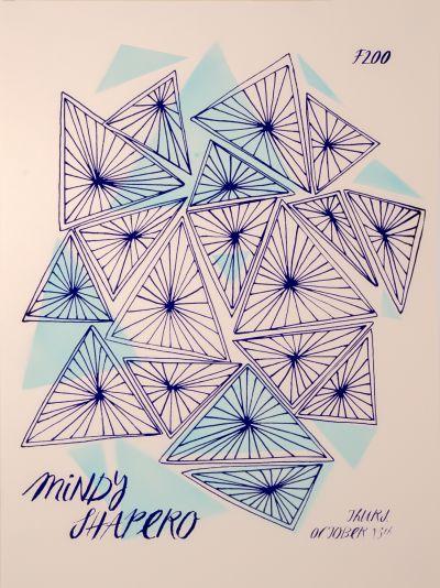 CalArts poster: Mindy Shapero (1/2) by Edwin Alvarenga Lila Burns