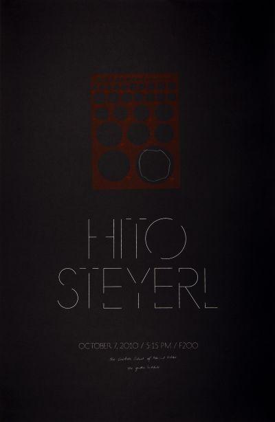 CalArts poster: Hito Steyerl by Ania Diakoff