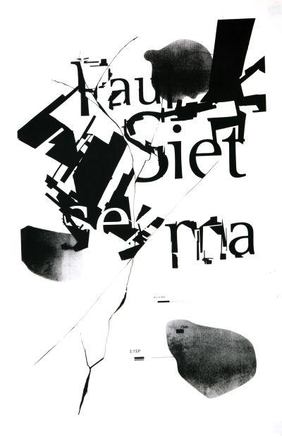CalArts poster: Paul Sietsema by Eileen Hsu