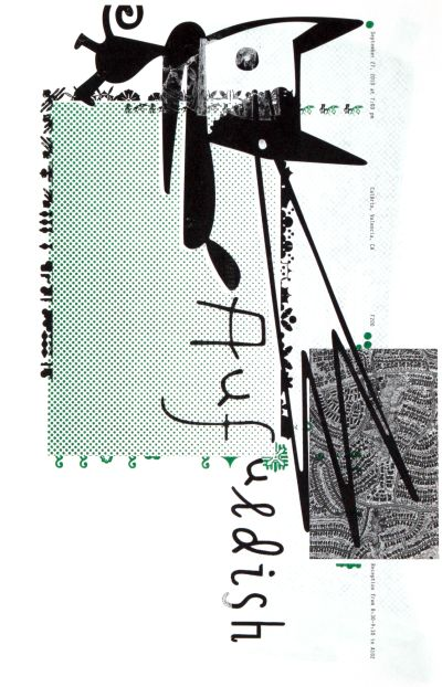 CalArts poster: Aufuldish (1/2) by Danae Moore