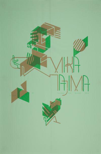 CalArts poster: Mika Tajima by Masato Nakada