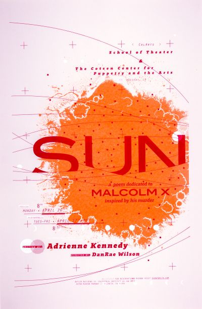 CalArts poster: SUN by Jesse Lee Stout