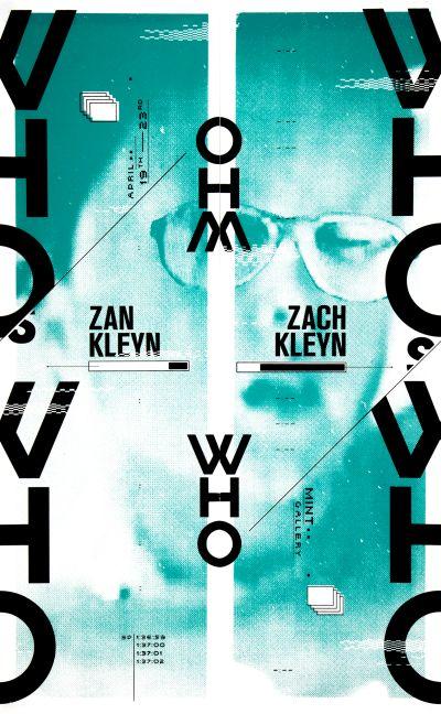 CalArts poster: Zach Kleyn & Zan Kleyn (2/2) by Jesse Lee Stout
