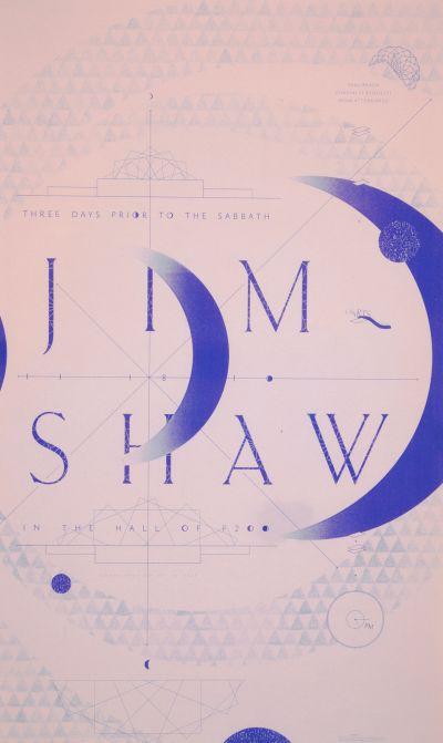 CalArts poster: Jim Shaw by David Karwan Jesse Lee Stout