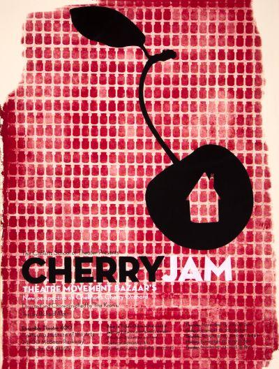 CalArts poster: Cherry Jam by Alejandro Hernandez