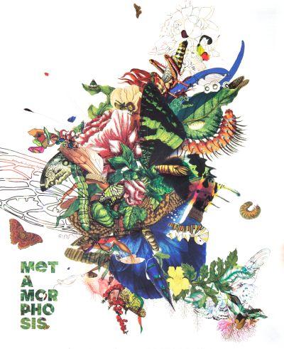"CalArts poster: 2010 Graduation, ""Metamorphosis"" by Karen To Piper Hughes"