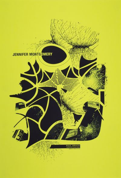 CalArts poster: Jennifer Montgomery by Noura Al-Naggar