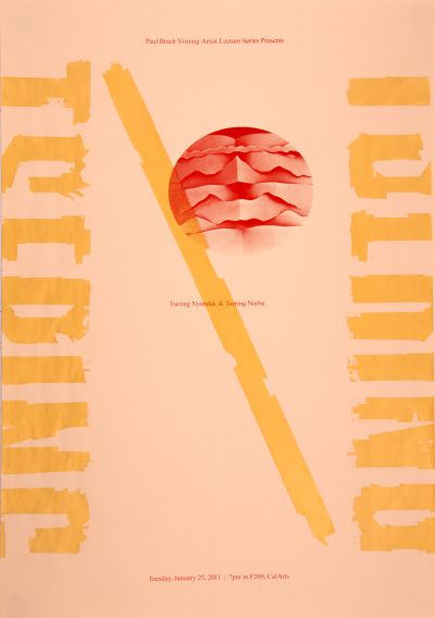 CalArts poster: Tsering Nyandak & Tsering Norbu by Thea Lorentzen Tim Belonax