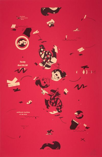 CalArts poster: Martin Kersels by Jesse Lee Stout