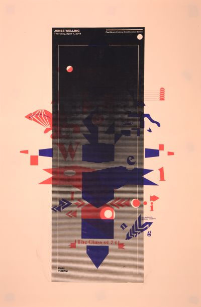 CalArts poster: James Welling by Masato Nakada