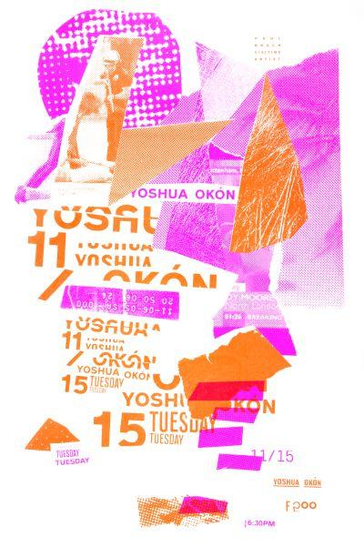 CalArts poster: Yoshua Okón by Kat Dickinson Scott Massey