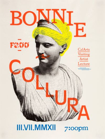 CalArts poster: Bonnie Collura by David Karwan Stefano Giustiniani