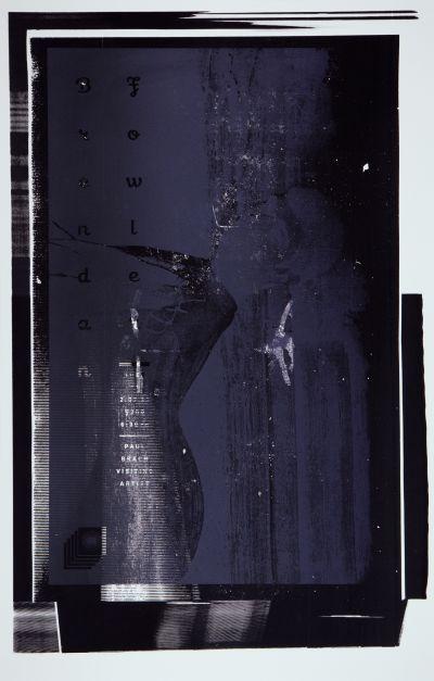 CalArts poster: Brendan Fowler by Scott Massey