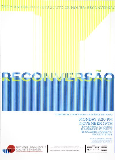 CalArts poster: REDCAT: Reconversão by Cathy Kangwon Lee Sarah Shoemake